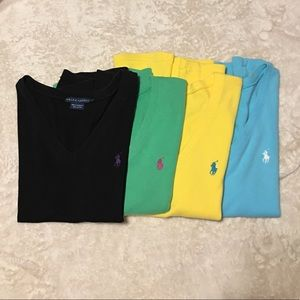 Ralph Lauren T-Shirts LARGE and one X-LARGE